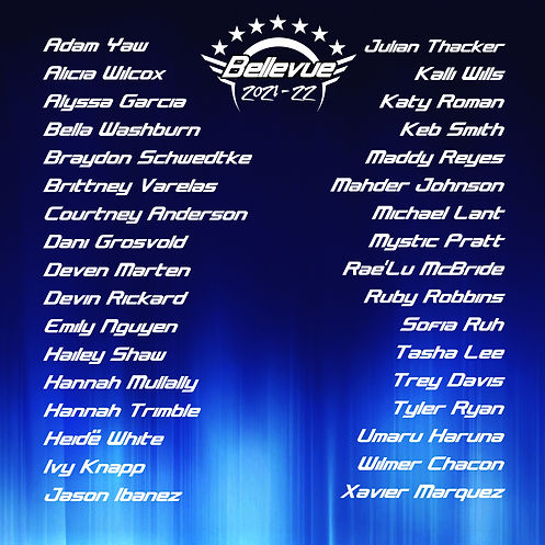 Bellevue IOC7 2021 22 roster .jpg