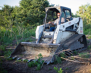 Tres Reiss in Skid Steer