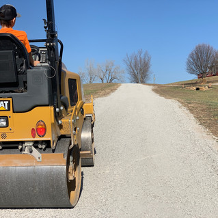 Gravel Driveway Topdress and Compaction