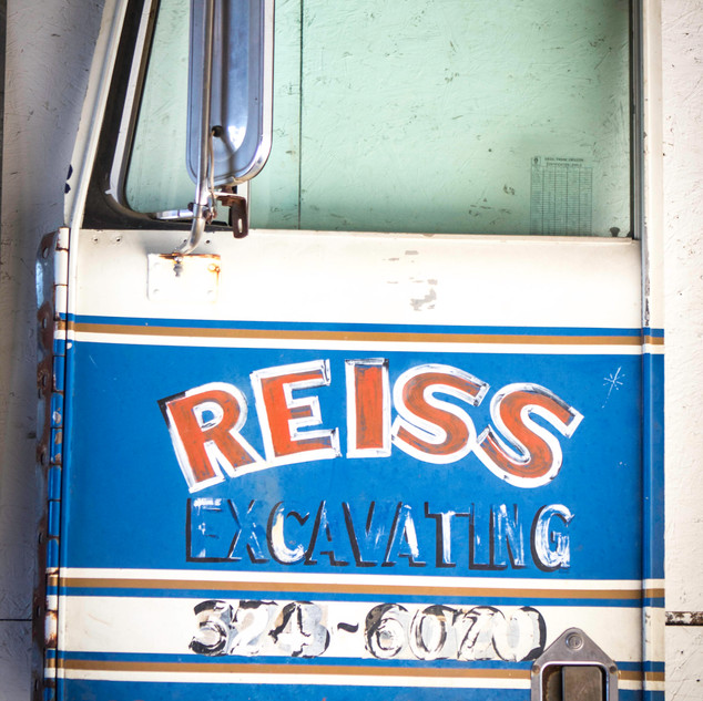 Grandpa Tom's Semi Truck Door-