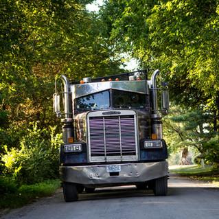 Dump truck _ Hauling