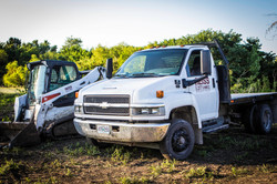 Flat Bed and Skid Steer