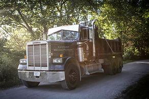 Dump truck. Fill dirt in Lee's Summit