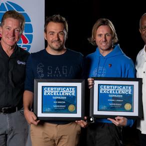 Double Platinum for our PADI Course Directors