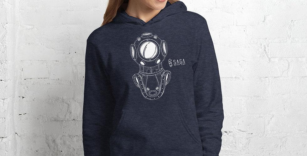 Diver's Helmet Unisex hoodie