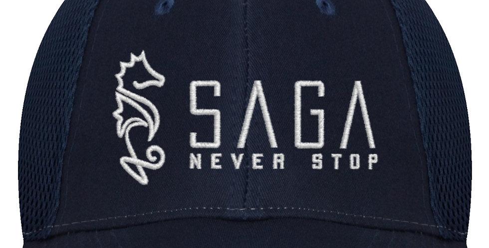 SAGA Mesh Cap - NAVY