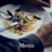 Menu at The Restaurat Pendolino