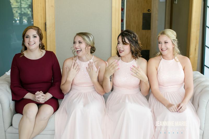 Sarah + Josh, Hazeltine Wedding, Jeannin