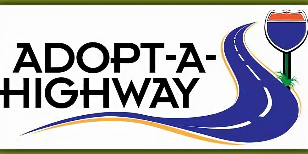 Adopt-A-Highway Roadside Clean Up