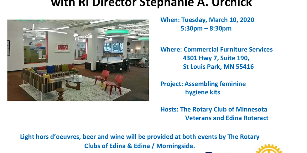 Sip & Serve with RI Director Stephanie A. Urchick
