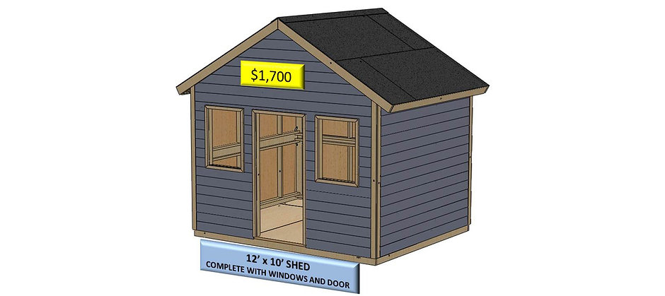 12' x 10' Shed Instructions Type 1