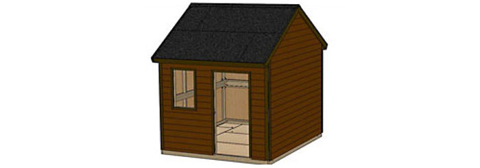 12' x 10' Shed Type 2