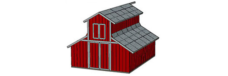 18' x 24' shed barn instructions