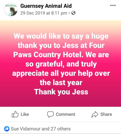 Thank you - Dec 2019