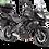 Thumbnail: Platine smartphone Kawasaki Versys 650 ABS