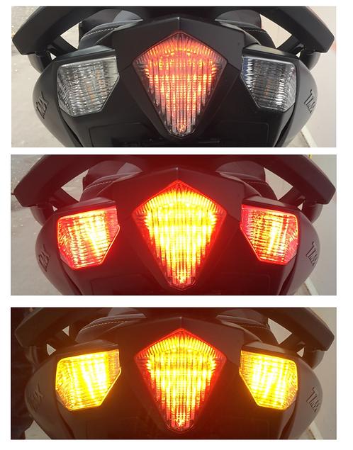 Kit LED Zx-1000 clignotants day light