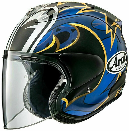 Arai  Dragon Moustachu, frost