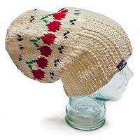 Cherries Baggy Dreadlock Hat