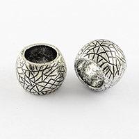Metal Effect Plastic Dreadlock Beads