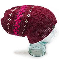 Winter Berries Baggy Dreadlock Hat