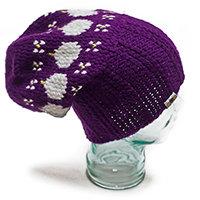 Plum Jam Baggy Dreadlock Hat