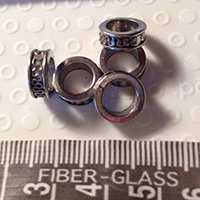 Small Tibetan Ring Dreadlock beads