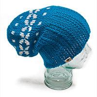 Blueberry Pie Baggy Dreadlock Hat