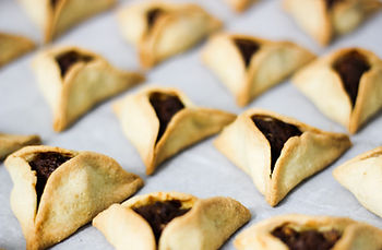 Traditional Purim Cookies