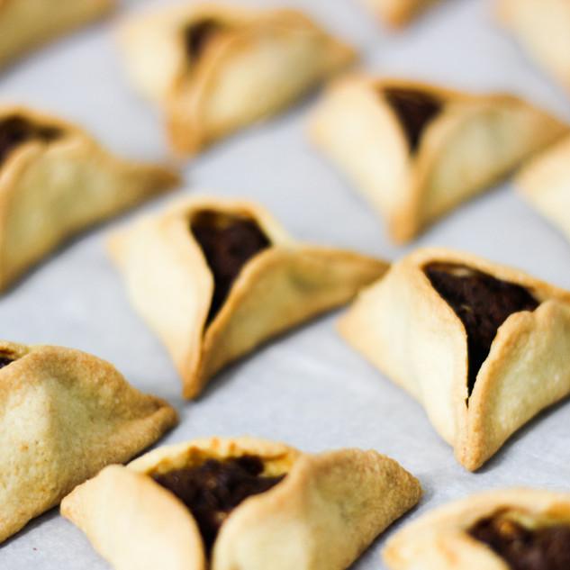 Traditional Purim Cookies