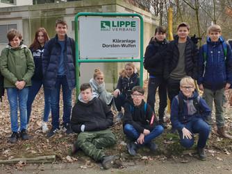 Montessori-Reformschule: Exkursion zur benachbarten Kläranlage
