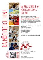 Die Realschule am Montessori Campus lädt ein.