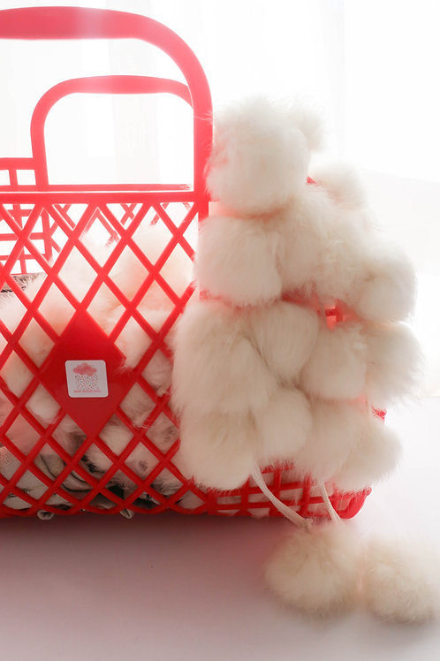 Retro Red Jelly Bag
