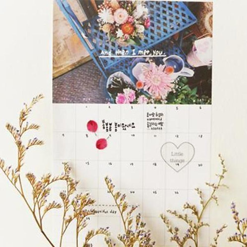 Monthly Plan Sticker Romance
