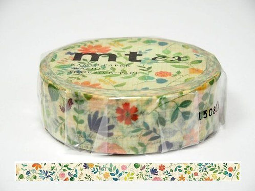 MT Washi Tape Watercolor Flower