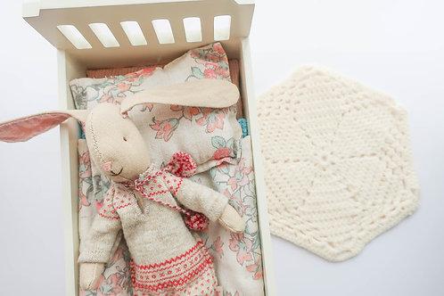 Cream Crochet Rug