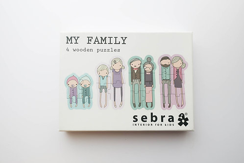 My Family Wooden Puzzle