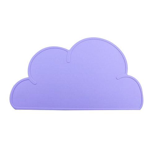 Cloud Shaped Dinner Mat Violet