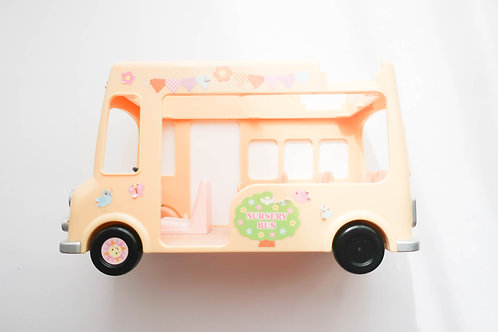 Sylvanian Families Double Decker Nursery Bus