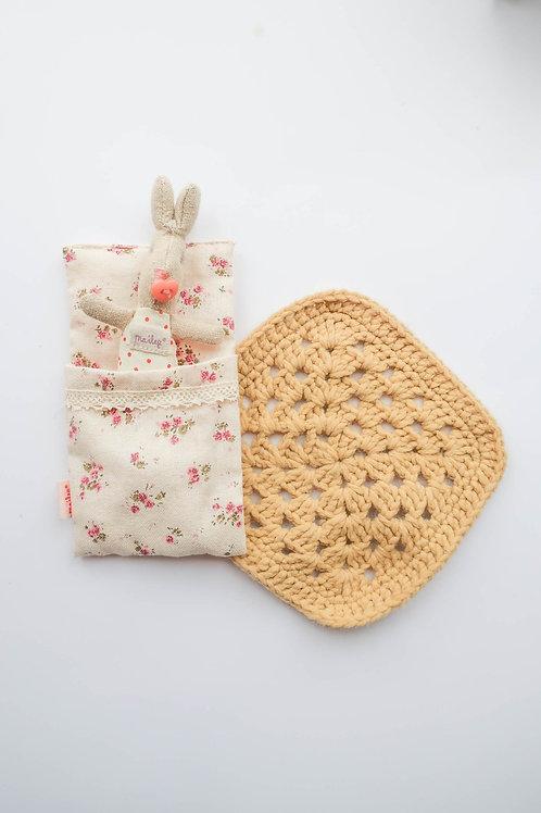 Beige Crochet Rug