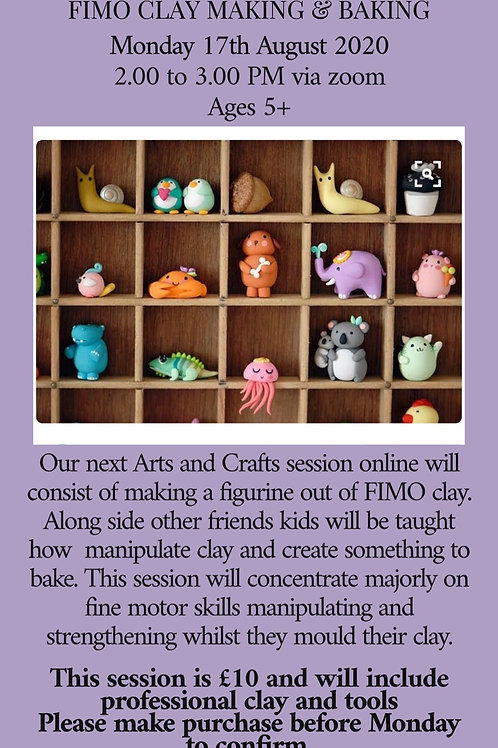 Holiday Craft Club - Fimo