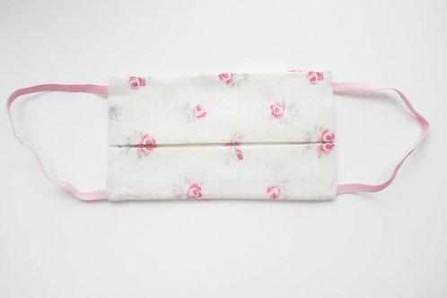 Pink Roses Adult Mask