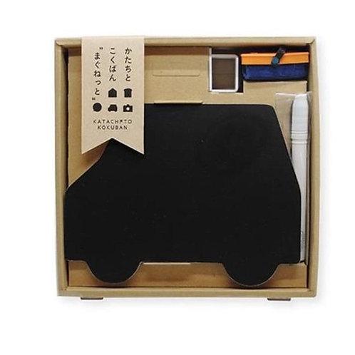 Magnet and Chalk Board Set -Car