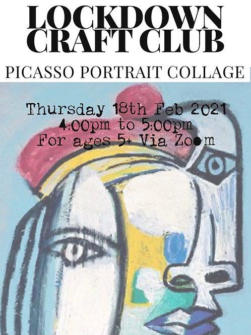 Lockdown Craft Club - Picasso