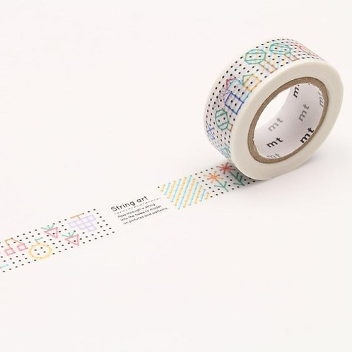 MT Kids Washi Tape String Art