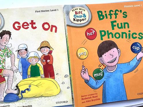 Biff & Chip Books Level one