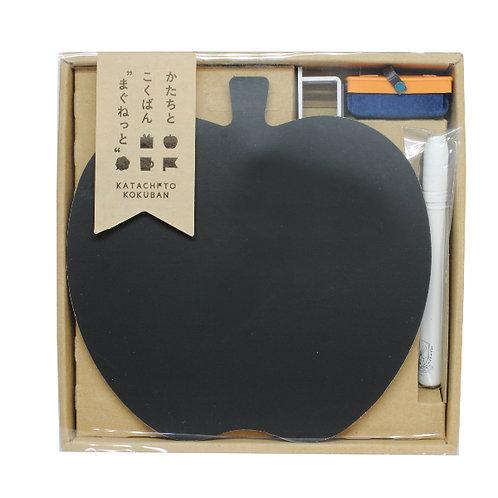Magnet and Chalk Board Set - Apple