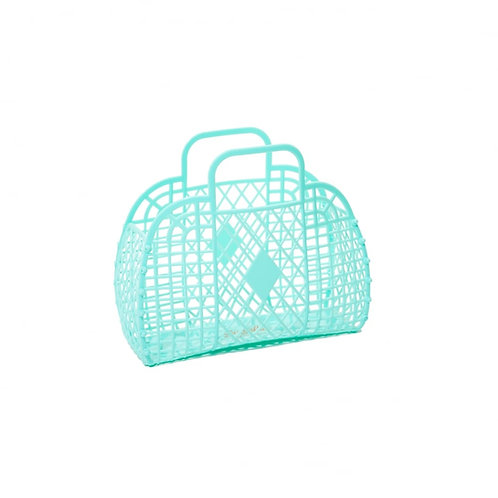 Turquoise  Jelly Bag