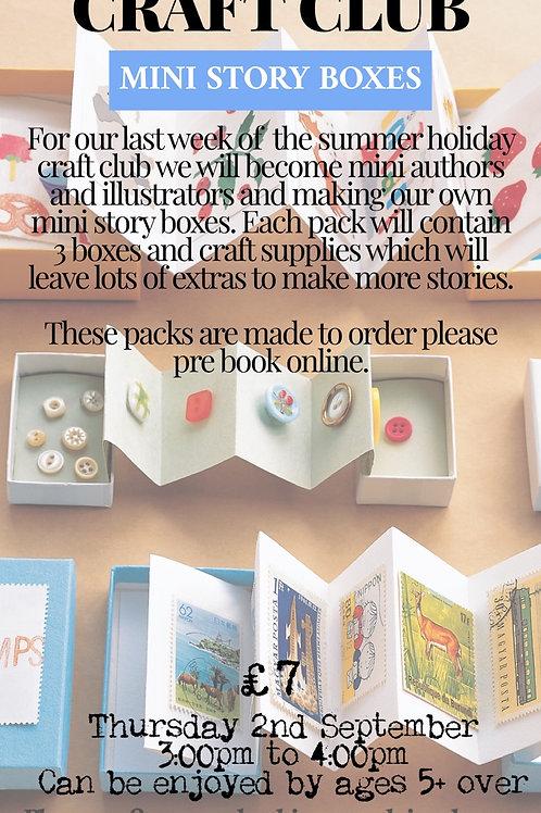 Mini Story Box Craft pack