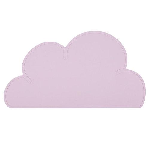 Cloud Shaped Dinner Mat Pastel Pink