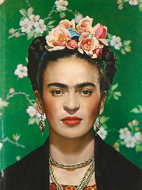 Mama Makes! Frida Khalo Portrait